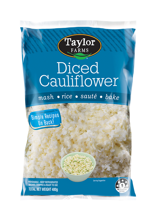 Diced Cauliflower