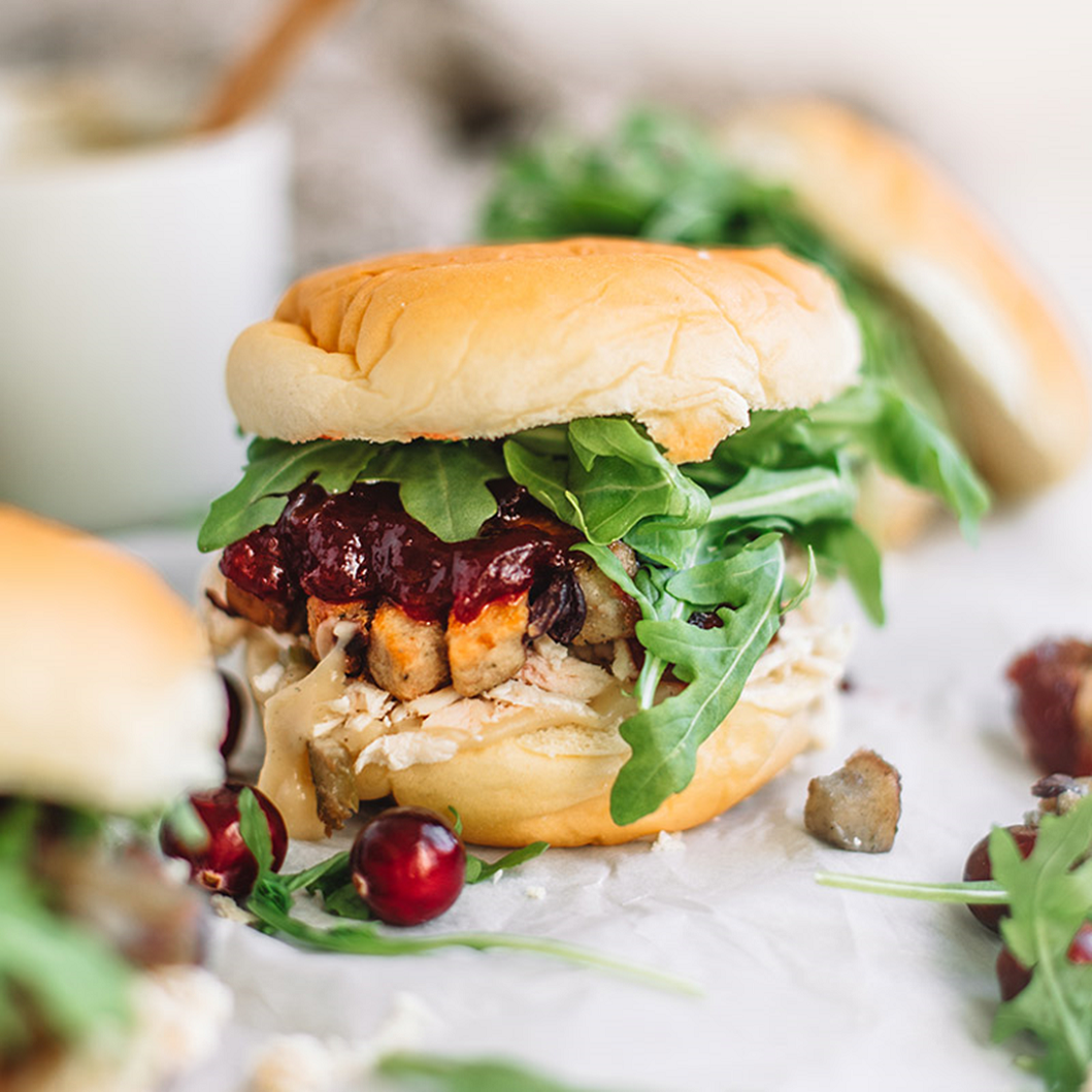 Christmas Leftover Sliders
